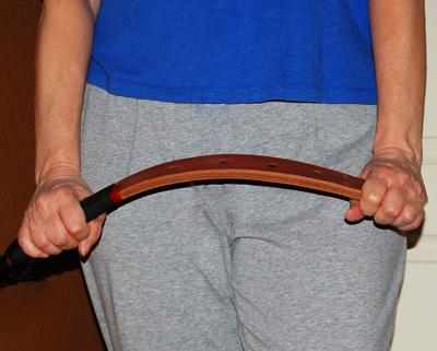 bending punishment strap