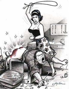 electric cord spanking