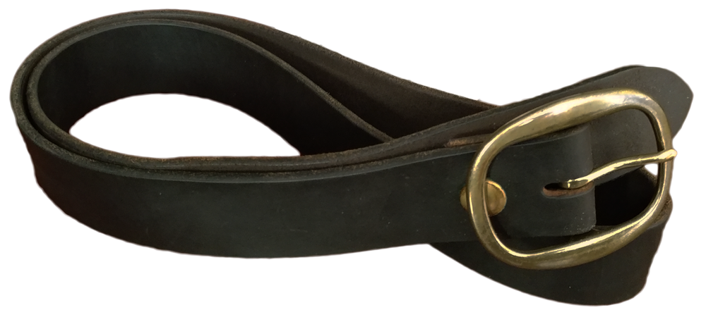 mean leather belt