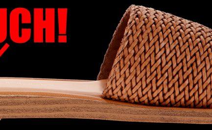 spanking sandal