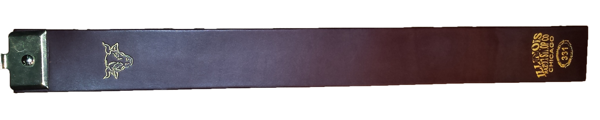 leather razor strap