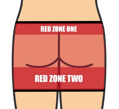 spanking zone graphic