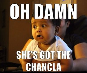 She's got the chancla