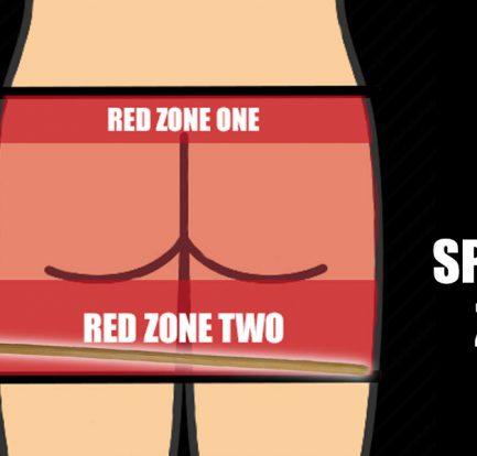 Spanking zones cane hero
