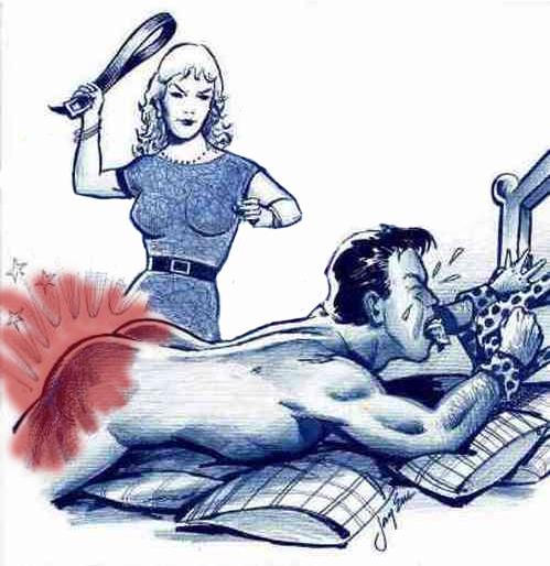 f/m belt spanking
