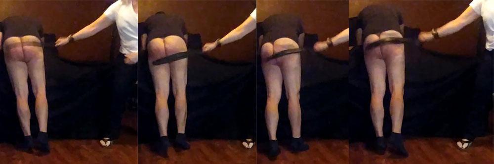 fm dd belt spanking
