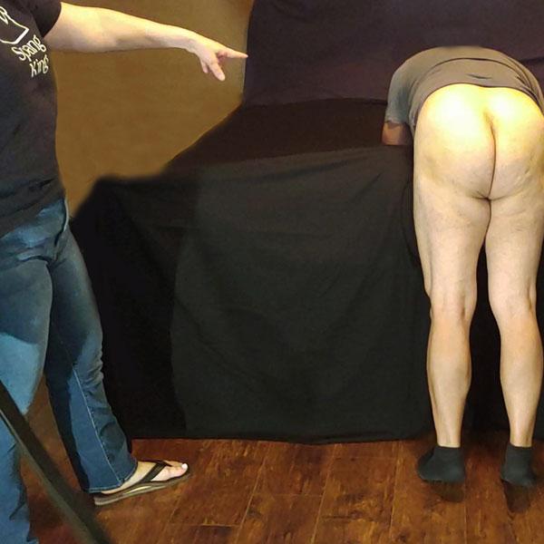 before belt spanking