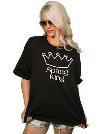 spang king t-shirt front