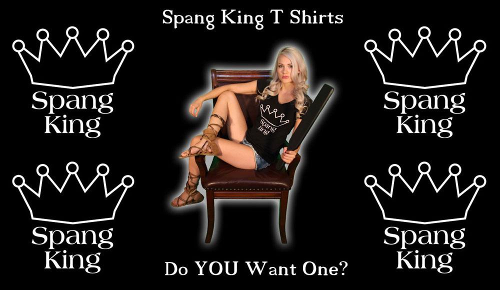 spang king t shirts