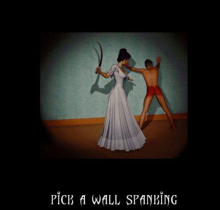 f/m pick a wall spanking
